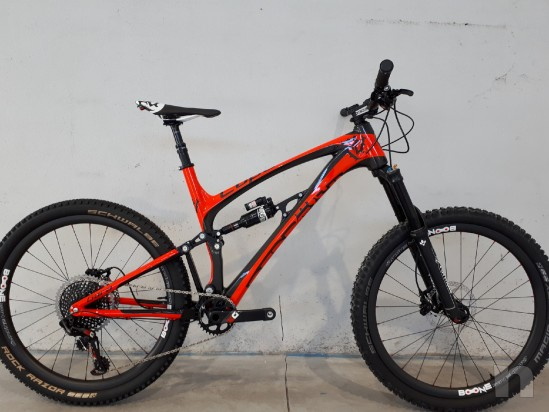 Mountain Bike Enduro Pedroni Cycles Lupo Carbon Gara foto-12138