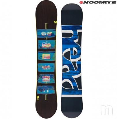 Set tavola snowboard head 153 156 162 + attacchi noomite rage foto-22847