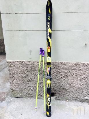 Sci Rossignol XS Dualtec cm. 178 con racchette foto-12447