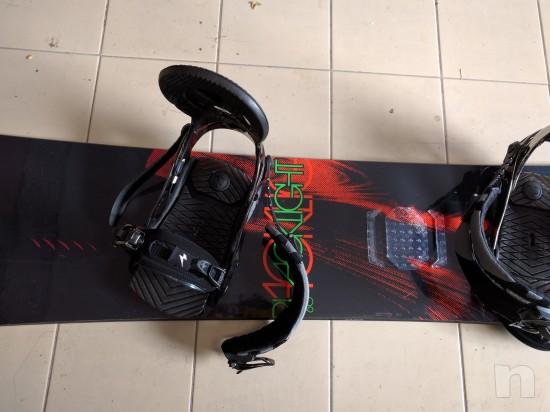 Tavola Snowboard Nitro BlackLight & Attacchi Raiden Machine foto-23213