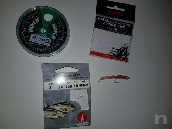 Canna da pesca 3.50m con mulinello e accessori  foto-23274