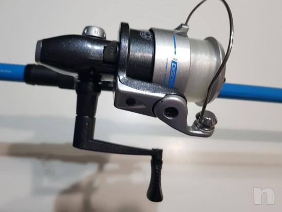 Canna da pesca 3.50m con mulinello e accessori  foto-23273