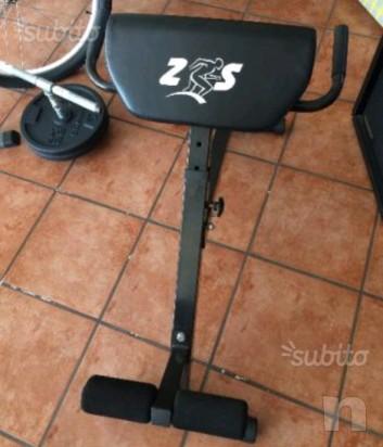 Panca allenamento lombari glutei dorsali  foto-12550