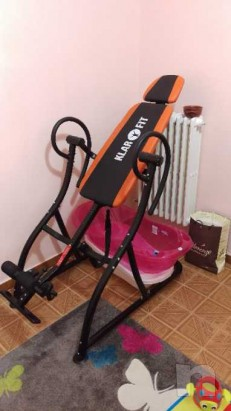 Klarfit Relax Zone Pro panca a inversione Hang-Up 150kg foto-12564