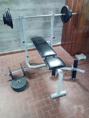 Panca per esercizi con pesi foto-12568