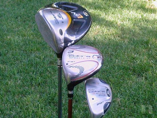 set completo da golf per mancini foto-1264