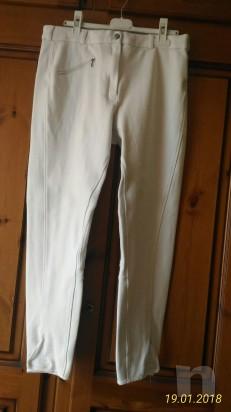 Pantaloni Fouganza bianchi da concorso foto-12837