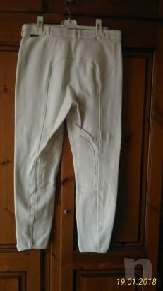 Pantaloni Fouganza bianchi da concorso foto-23962