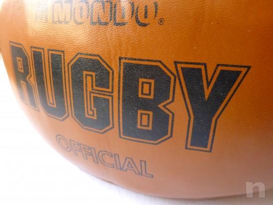 Palla da Rugby  (Official)  MONDO  cm.30 x 15 foto-24099