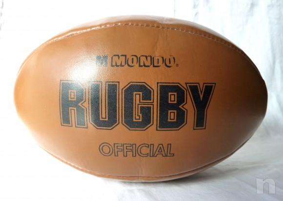 Palla da Rugby  (Official)  MONDO  cm.30 x 15 foto-12916