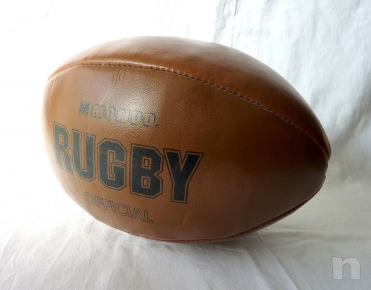 Palla da Rugby  (Official)  MONDO  cm.30 x 15 foto-24097