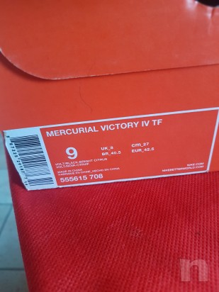 Scarpe calcetto nike mercurial 42.5 foto-24278