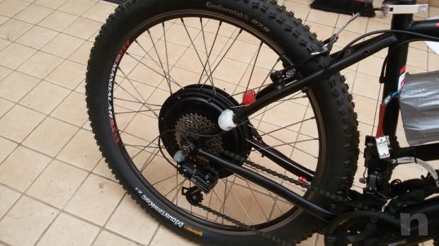 Mountain bike elettrica motore 1500 watt foto-24467