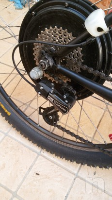 Mountain bike elettrica motore 1500 watt foto-24470