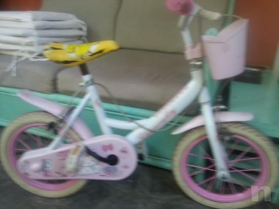 Bici per bambina Hello Kitty foto-24763