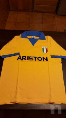 Maglietta Juventus Ufficiale anni ottanta sponsor Ariston foto-13371