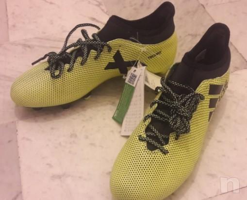 Scarpe Calcio Adidas x 17.3 SG nuove foto-25104