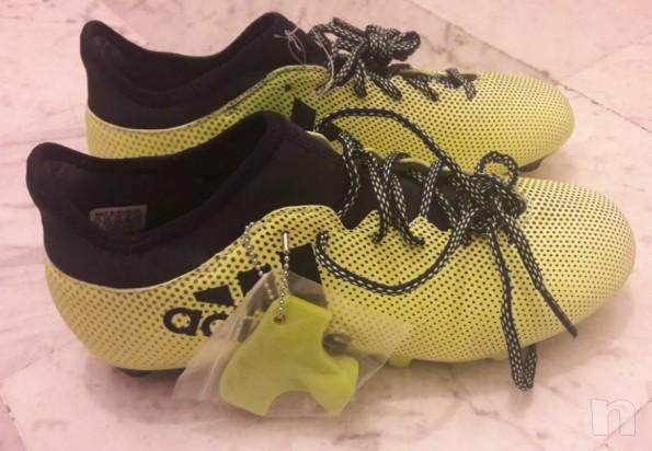 Scarpe Calcio Adidas x 17.3 SG nuove foto-13397