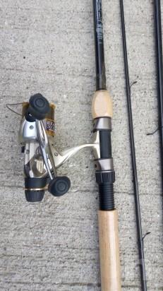 canna Match 390 con mulinello EXAGE 3000 MRC Shimano foto-13402