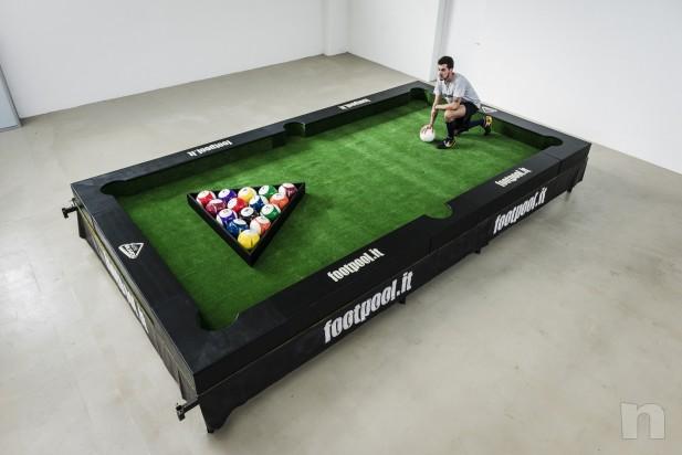 tavolo da calcio-biliardo (snookball) marca footpool.it foto-2051