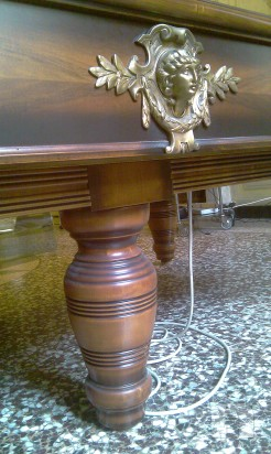 Tavolo Biliardo Ursus Avi Anni 40 riscaldato foto-2082