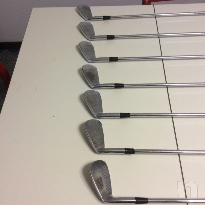 Set di ferri da golf titleist mb 714 con shafts foto-13589