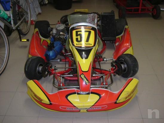 Vendo Kart Maranello 125 a marci  motore TM k9 D foto-13619