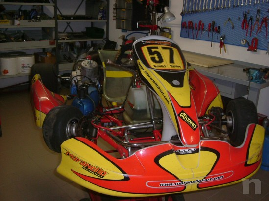 Vendo Kart Maranello 125 a marci  motore TM k9 D foto-25516