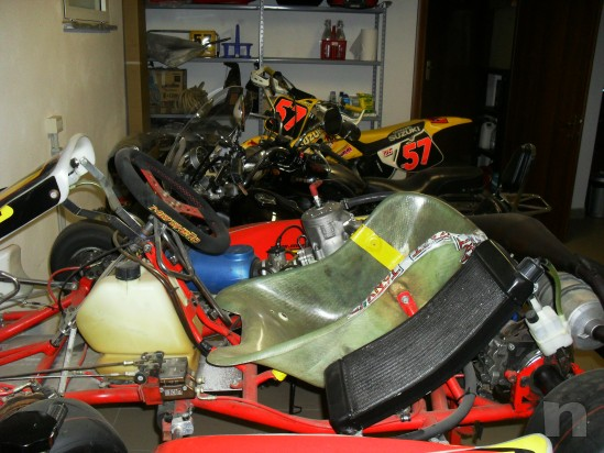 Vendo Kart Maranello 125 a marci  motore TM k9 D foto-25517