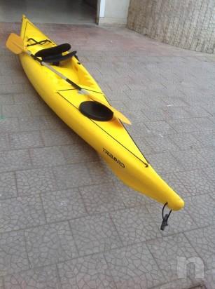 canoa kayak con pagaia foto-25560