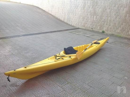 canoa kayak con pagaia foto-13638