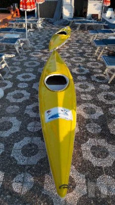 Canoa monoposto foto-13646