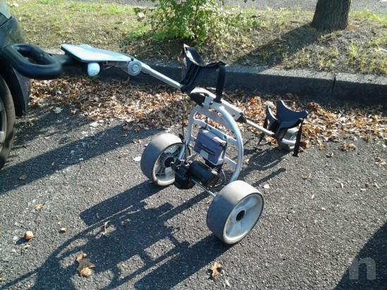 Vendesi carrello da golf elettrico ottime condizioni   foto-25936