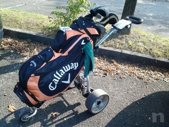 Vendesi carrello da golf elettrico ottime condizioni   foto-13860