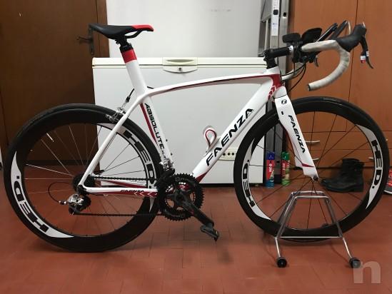 Bici completa Telaio  e ruote in carbonio compreso gruppo sram red  foto-13906