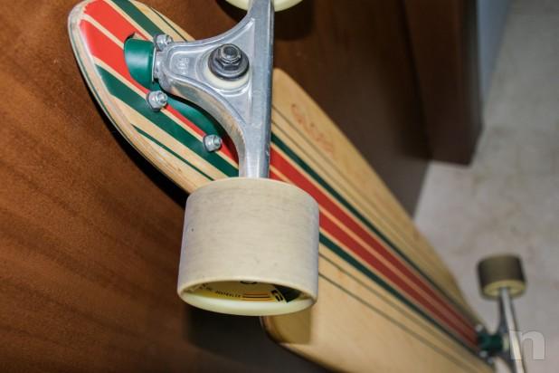GLOBE Longboard Prowler Bamboo come nuovo!! foto-26201