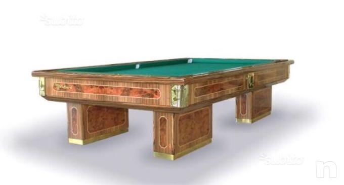 Tavolo da biliardo MBM in legno massello. foto-14093