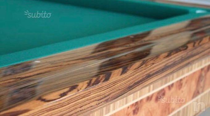 Tavolo da biliardo MBM in legno massello. foto-26475