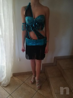 Vendo abito per danze Latino Americano,categoria B2/B1 foto-14113