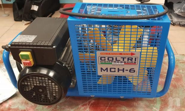 COMPRESSORE MCH6 PER BOMBOLE DA SUB E CARABINA PCP foto-26559