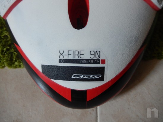 RRD x-fire v8 90lt tavola windsurf foto-26737