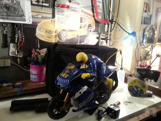 Moto professionale radiocomandata scoppio foto-26814