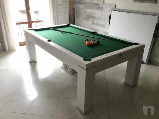 Tavolo da Biliardo trasformabile tavola da Pranzo - biliardo in ...