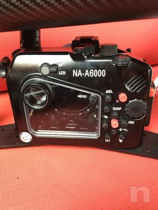 Custodia NAUTICAM in allumini con comandi esterni + Sony A6000 foto-14446