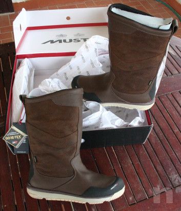 GORE-TEX LEATHER SAILING BOOT MUSTO foto-14454