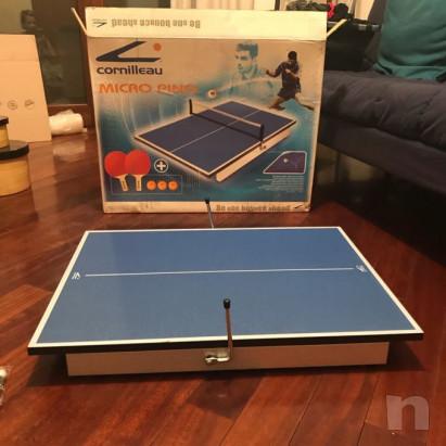 Tavolo da ping pong da appoggio foto-27291