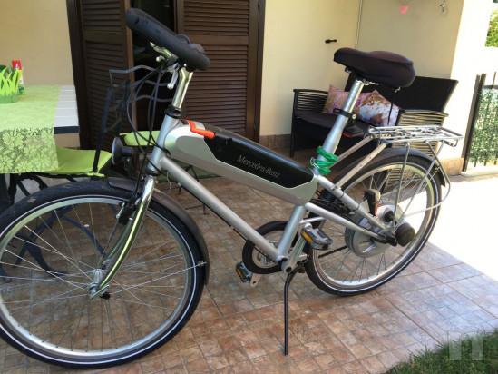 Vendo Bicicletta Mercedes Benz Elettrica