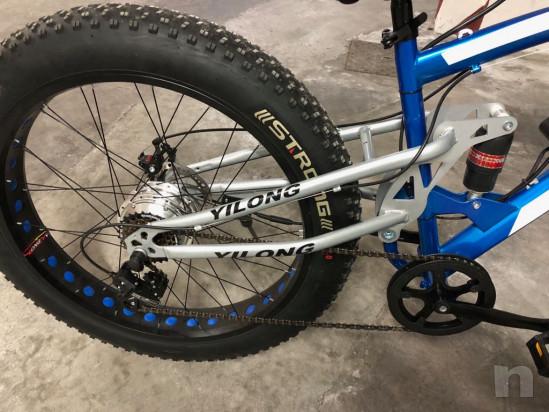 Bicicletta elettrica biwbik. Fat Bike. Snow Bike foto-27402