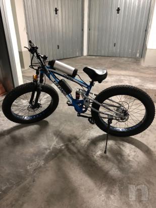 Bicicletta elettrica biwbik. Fat Bike. Snow Bike foto-27399