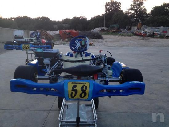 go  kart 125 telaio top kart 2014 motore tm completo di accessori foto-27502
